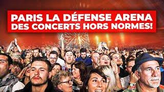Paris La Défense Arena : des concerts hors normes !