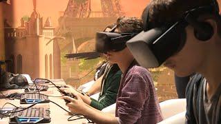 Réalité virtuelle... sensations réelles !