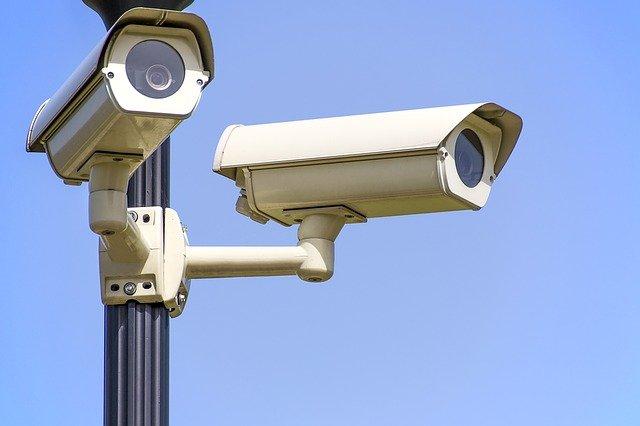Les caméras de sécurité