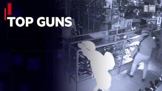 Les armureries prises pour cibles