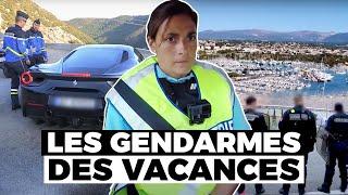 Les gendarmes de l'autoroute des vacances