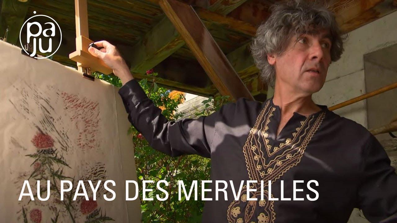 Poète et graveur, Olivier pose un regard sensible sur la nature qui l'entoure