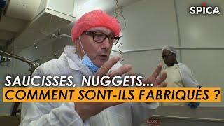 Saucisses, Nuggets, Cordon Bleus : comment sont-ils fabriqués ?