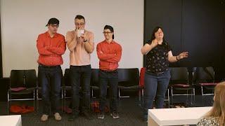Documentaire Théâtre : des acteurs trisomiques pour rire du handicap