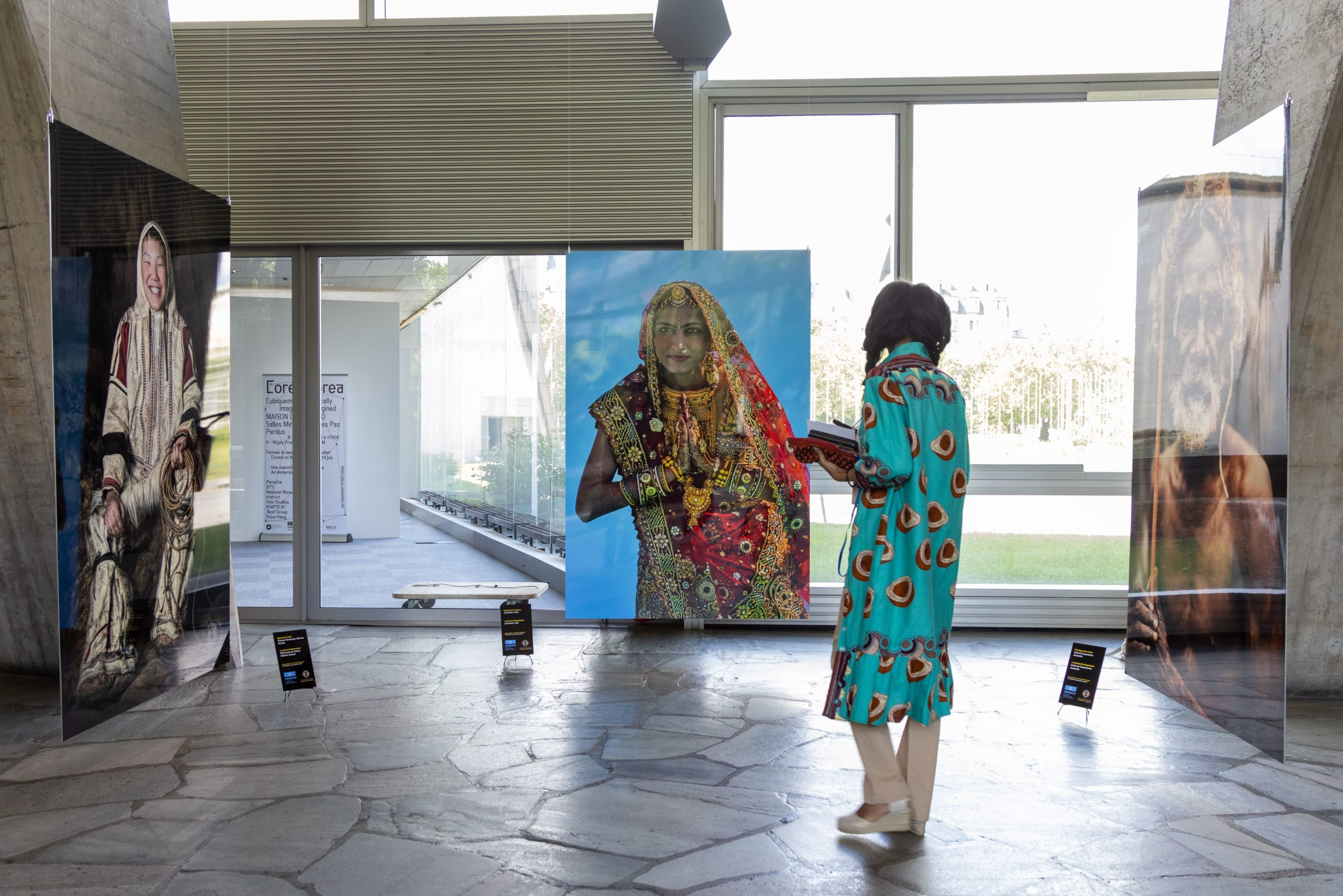 Les travaux du photographe russe ont été présentés au siège de l'UNESCO