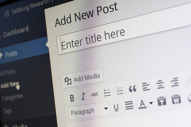 La création de site avec Wordpress