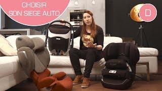 Documentaire Comment choisir le siège auto de bébé