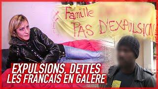 Documentaire Expulsions, dettes, les Français en galère