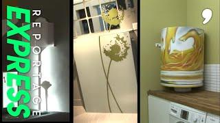 Documentaire Stickers : l'art du camouflage à la maison