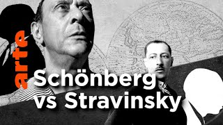 Les grands rivaux en musique | Schönberg vs Stravinsky