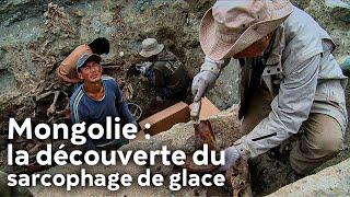 Mongolie : la découverte du sarcophage de glace