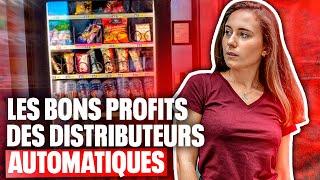 Distributeursautomatiques : petites faims et gros profits