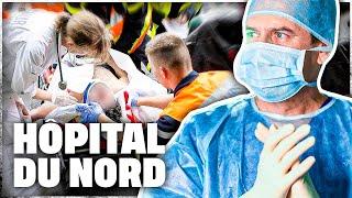 Hôpital du Nord : les soignants sur tous les fronts
