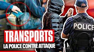 Insécurité dans les transports : la police contre-attaque