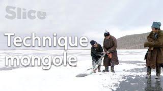 La pêche sous glace avec les Tsaatans