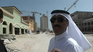 Le Pearl, un projet d'île artificielle au Qatar