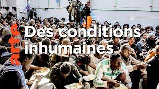 Libye, les centres de la honte