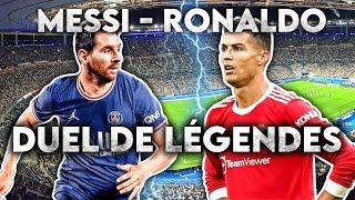 Messi - Ronaldo : Duel de légendes