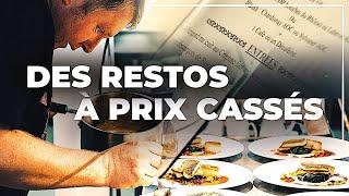 Promos : des dîners à prix cassés